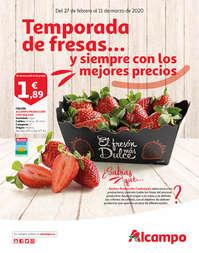 Temporada de fresas y siempre con los mejores precios