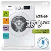 Lavadora Samsung con nueva clase energética