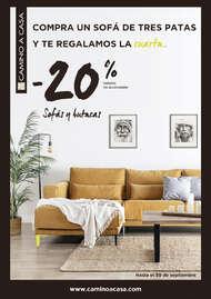 -20% en sofás y butacas