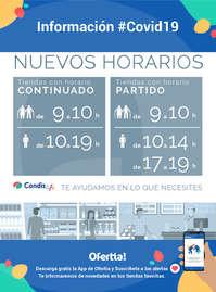 Información Condis #Covid19