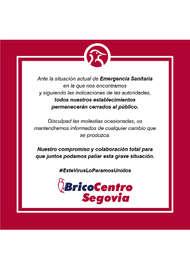 Bricocentro Informa - Segovia #EsteVirusLoParamosUnidos