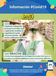 Información Supermercados Dani #Covid19