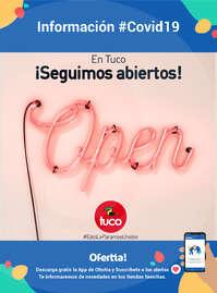 En Tuco ¡seguimos abiertos! - #Covid19